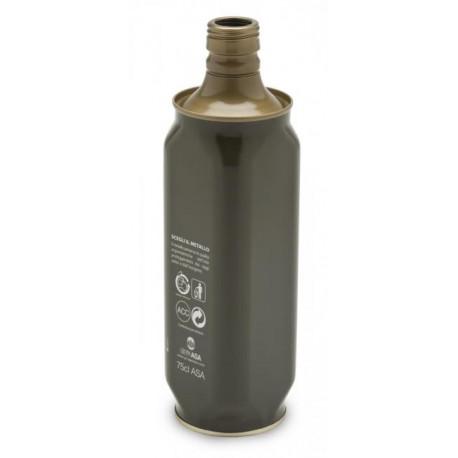 Bottiglia Lattina quadra cl 75