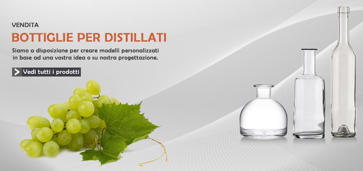 Vendita bottiglie per distillati