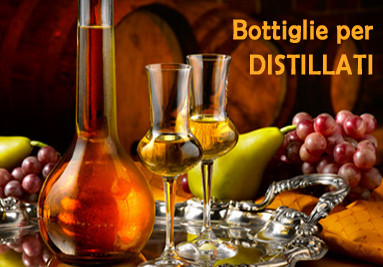 Bottiglie per distillati