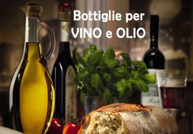 Bottiglie per vino e olio